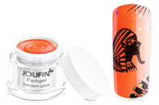 Jolifin Farbgel mandarin glaze 5ml