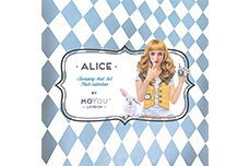 MoYou-London Schablone Alice Collection 04