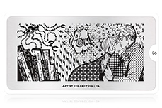 MoYou-London Schablone Artist Collection 06