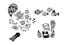 MoYou-London Schablone Doodles Collection 07