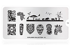MoYou-London Schablone Explorer Collection 10