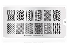MoYou-London Schablone Fashionista Collection 14