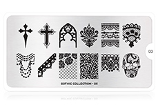 MoYou-London Schablone Gothic Collection 03