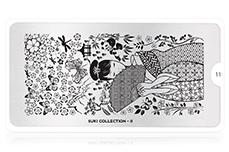 MoYou-London Schablone Suki Collection 11