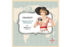 MoYou-London Schablone Tourist Collection 14