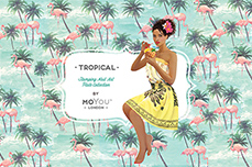 MoYou-London Schablone Tropical Collection 21