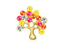 Jolifin Overlay Baum mit Neon-Perlen