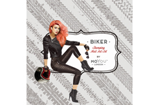 MoYou-London Schablone Biker Collection 04