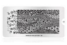 MoYou-London Schablone Doodles Collection 02