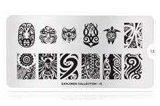 MoYou-London Schablone Explorer Collection 15