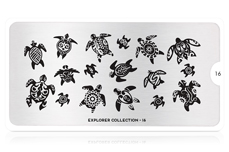 MoYou-London Schablone Explorer Collection 16