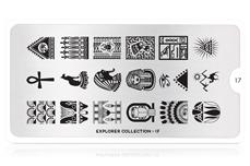 MoYou-London Schablone Explorer Collection 17