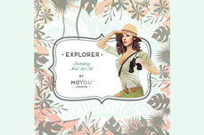 MoYou-London Schablone Explorer Collection 17