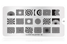 MoYou-London Schablone Illusion Collection 02