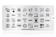 MoYou-London Schablone Lingo Collection 06