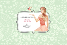 MoYou-London Schablone Mother Nature Collection 09