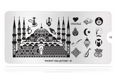 MoYou-London Schablone Tourist Collection 18