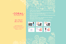 MoYou-London Schablone Tropical Collection 08
