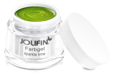 Jolifin Farbgel sparkle lime 5ml