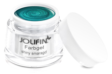 Jolifin Farbgel shiny smaragd 5ml