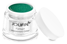 Jolifin Farbgel peppermint Glitter 5ml