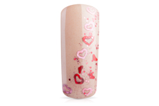 Jolifin Fantasy Glitter pink-red