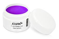 Jolifin Acryl Farbpulver - neon purple 5g