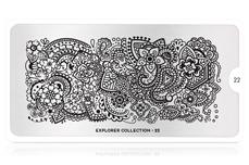 MoYou-London Schablone Explorer Collection 22