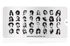 MoYou-London Schablone Rockstar Collection 06