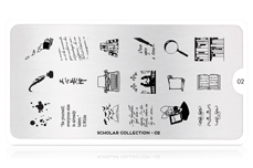 MoYou-London Schablone Scholar Collection 02