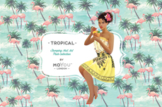 MoYou-London Schablone Tropical Collection 06