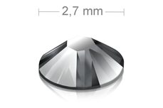 Swarovski Strasssteine - Light Chrome - 2,7mm