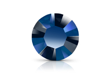 Swarovski Strasssteine - Metallic Blue - 1,8mm