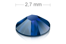 Swarovski Strasssteine - Metallic Blue - 2,7mm