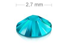 Swarovski Strasssteine - Blue Zircon - 2,7mm