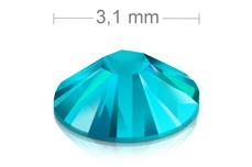 Swarovski Strasssteine - Blue Zircon - 3,1mm