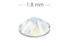 Swarovski Strasssteine - white opal - 1,8mm