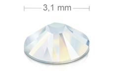 Swarovski Strasssteine - white opal - 3,1mm