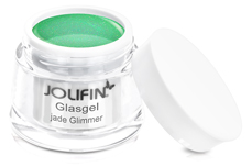 Jolifin Glasgel jade Glimmer 5ml