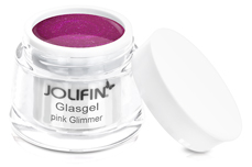 Jolifin Glasgel pink Glimmer 5ml
