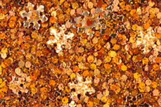 Jolifin Snowflake Glitter - copper