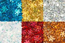 Jolifin Snowflake Glitter Set