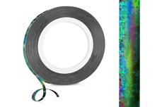 Jolifin Nailart Pinstripes hologramm schwarz