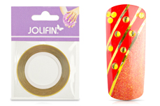 Jolifin Nailart Pinstripes chrome gold