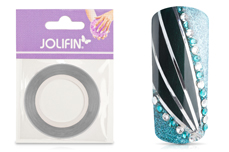 Jolifin Nailart Pinstripes chrome silber