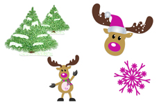 Jolifin Christmas Glitter Tattoo 14