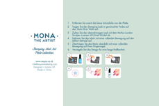 MoYou-London Schablone Artist Collection 12