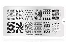 MoYou-London Schablone Festive Collection 03