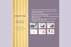 MoYou-London Schablone Festive Collection 04