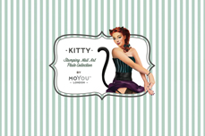 MoYou-London Schablone Kitty Collection 10